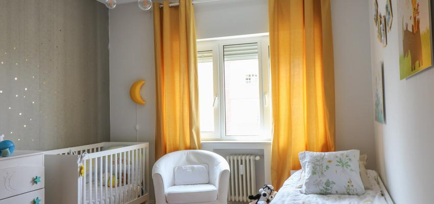 Dormitorio, Sala de juegos, Niños Estilo vanguardista Color amarillo, verde, gris  diseñado por The Numen Studio | Interiorista | Copyright The Numen Studio  http://thenumenstudio.com/portfolio_page/reforma-y-decoracion-en-piso-conde-de-casal-madrid/