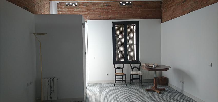 Comedor, Salon, Exterior Estilo mediterraneo Color gris, plateado  diseñado por Mar Batuecas | Arquitecto Técnico | Copyright Mar Batuecas