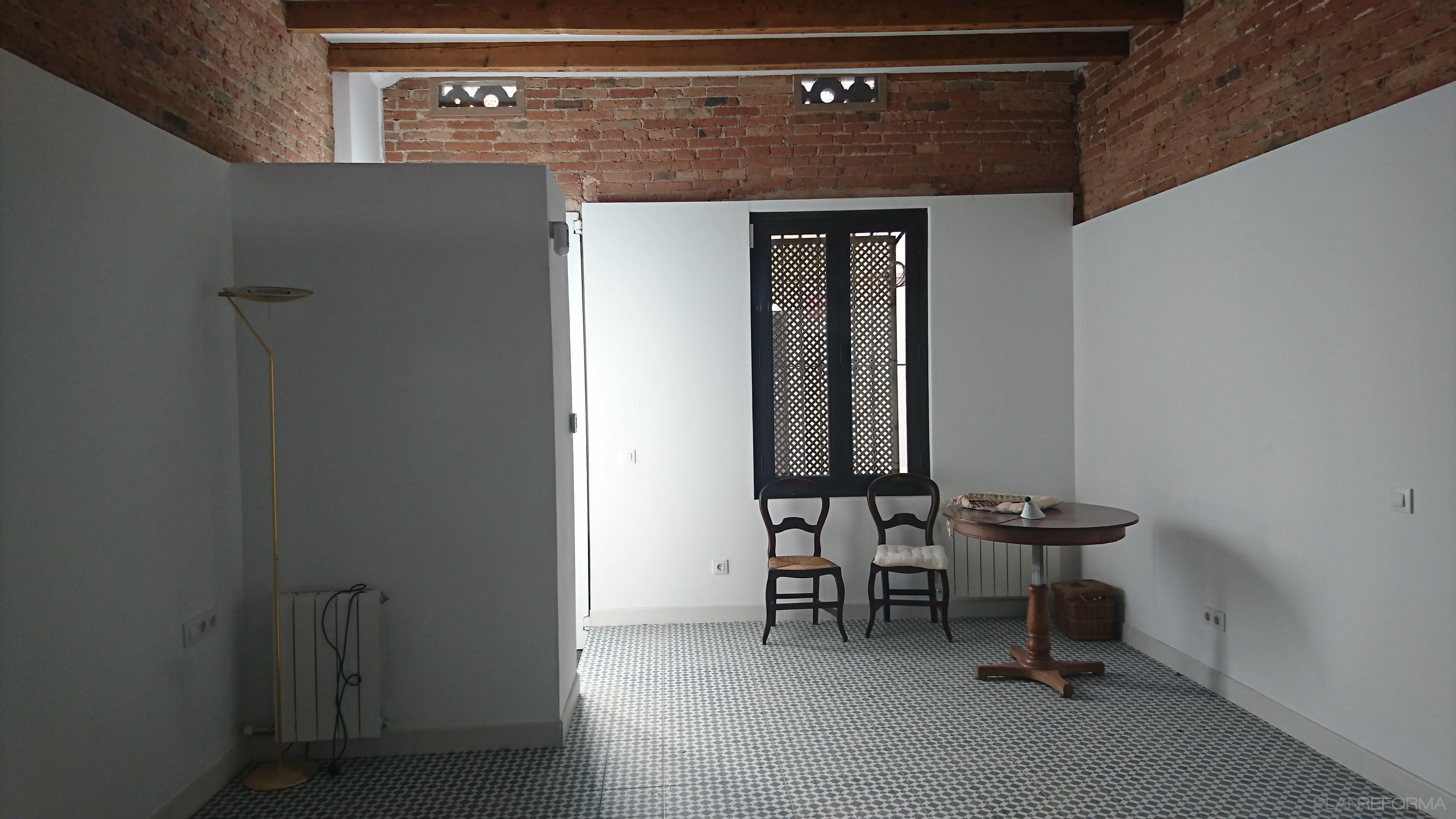 Comedor, Salon, Exterior Estilo mediterraneo Color gris, plateado  diseñado por Mar Batuecas   Arquitecto Técnico   Copyright Mar Batuecas